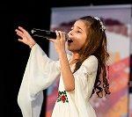Natalia chante pour la paix