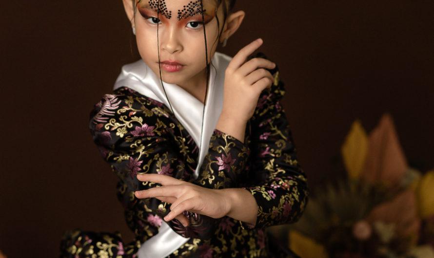 Liu Nan un ange un model une kids une artiste