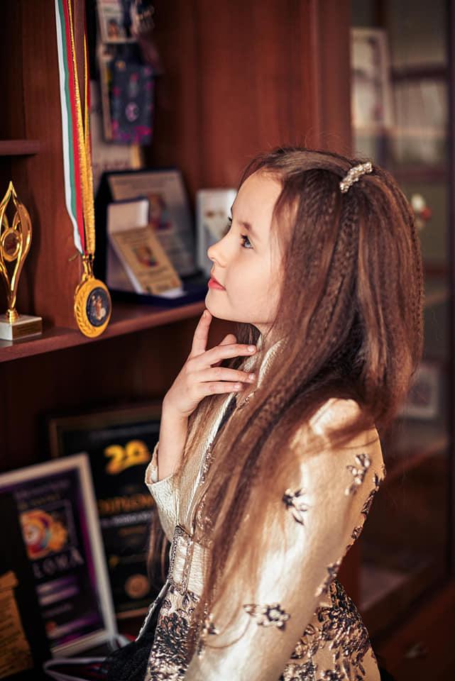 Evelina Rusu  une jeune kids qui impose par sont talent