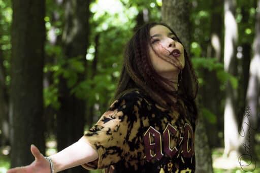 Natalia Alexandra Bendre toujours plus rock que la roche des montagnes
