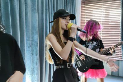 Ema Presents Marusia Yavorska, from the Rock Band «Shche»