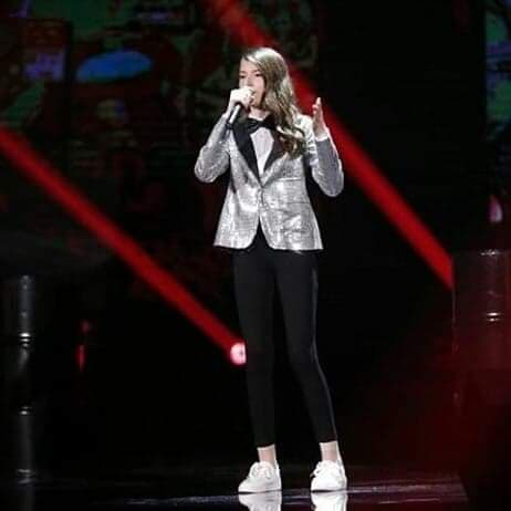 Blinera the voice kids Albanie mini stars kids du monde