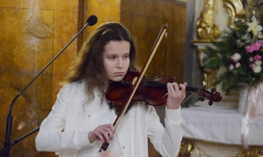 Karina Kornuta, 12 ans, une voix un talent