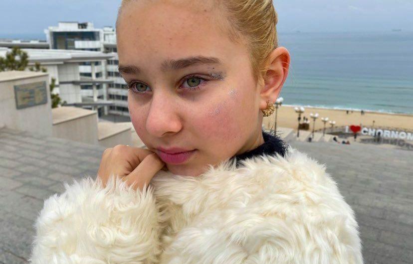 Alisa Botvintseva.13 ans .déjà une kids prodige en  Ukraine