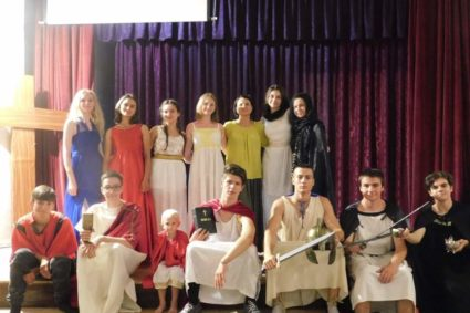 Ema Presents «Katharsis Antic», The Best Ancient Theater Troupe In Romania